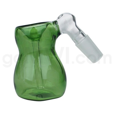 DISC GoG C/T 19mm Ashcatcher Bubble Shape-Green