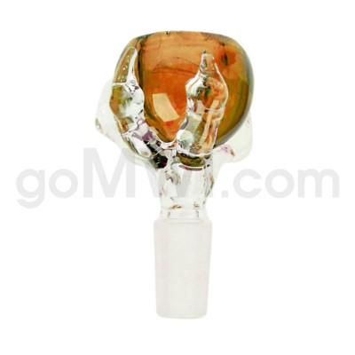 14mm GOG Dragon Claw Bowl Amber