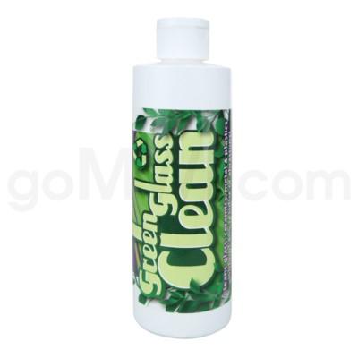 DISC Green Glass Clean Pipe & Hookah Cleaner 8 oz.