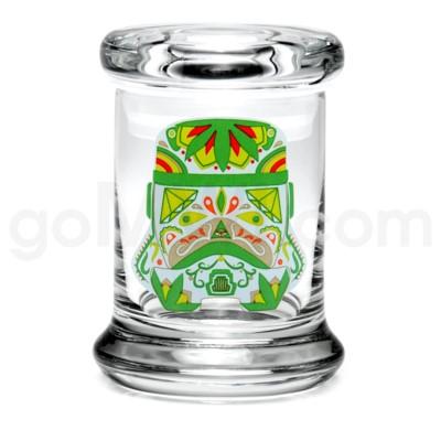 Glass Jar 420 Pop-Top 1/8oz-Sugar Trooper