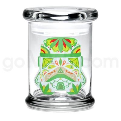 Glass Jar 420 Pop-Top 1/2oz-Sugar Trooper