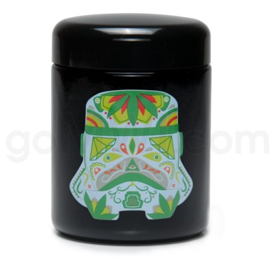 Glass Jar 420 UV Screw Top 1/2oz-Sugar Trooper