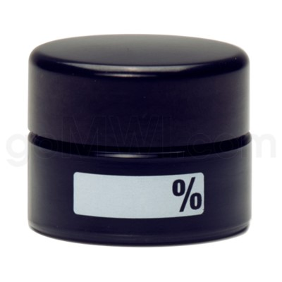 Glass Jar 420 UV Concentrate 10ml-% Label
