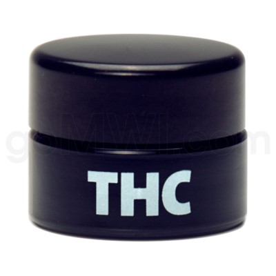 Glass Jar 420 UV Concentrate 10ml-THC