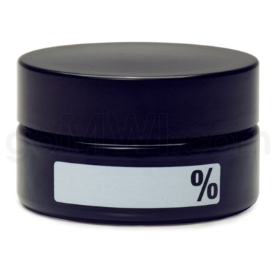 Glass Jar 420 UV Concentrate 100ml-% Label