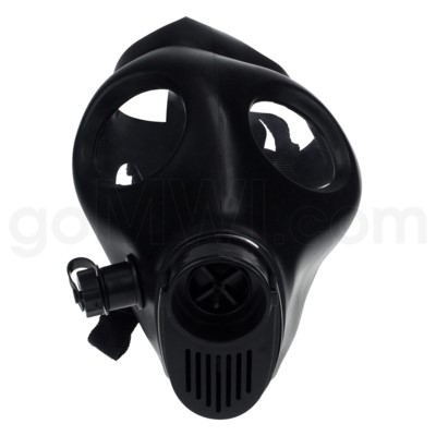 Gas Mask ONLY black No attachment