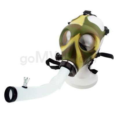 Gas Mask w/ Open End Curve Steamroller-Camo