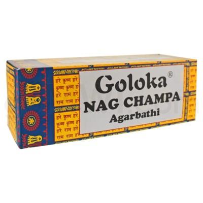 Goloka Nag Champa 8g x 25 Bxs