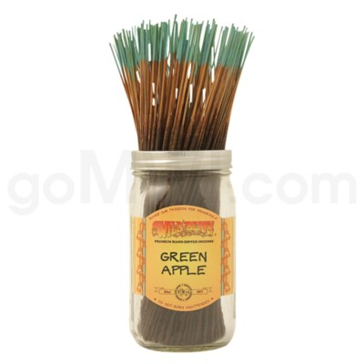Wildberry Incense Green Apple 100/ct