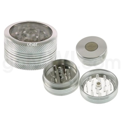DISC Grinder Uber 2 pc CNC Clear Top -1.5