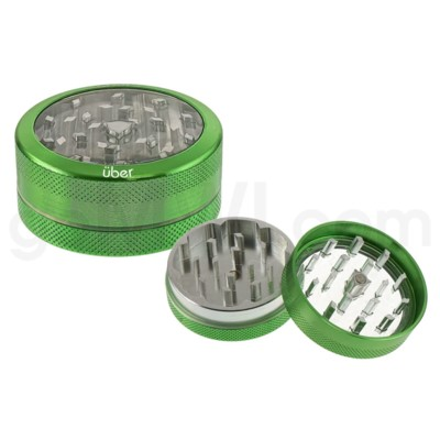 DISC Grinder Uber 2 pc CNC Clear Top 50mm-2