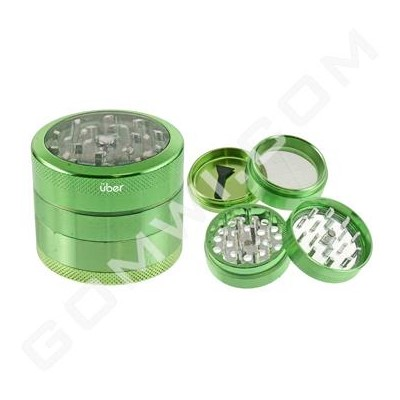 DISC Uber Grinder 4 pc CNC Clear Top 50mm-2