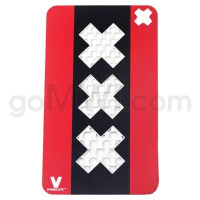 DISC  Grinder V Syndicate Card Grinder - Triple X