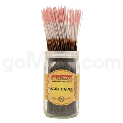 Wildberry Incense Harlequin 100/ct