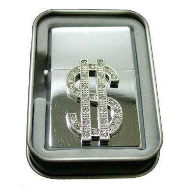 DISC Lighter Bling w/case Dollar