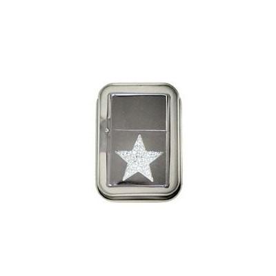 DISC Lighter Bling w/case Star