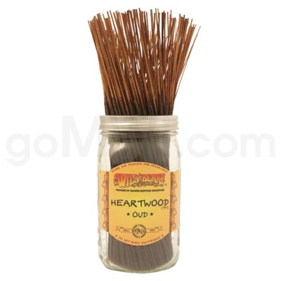 DISC Wildberry Incense Heartwood 100/ct