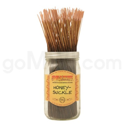 Wildberry Incense Honeysuckle 100/ct