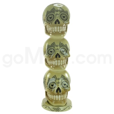 Incense Burner Day of the Dead Tower - Bone     (8/20/160)
