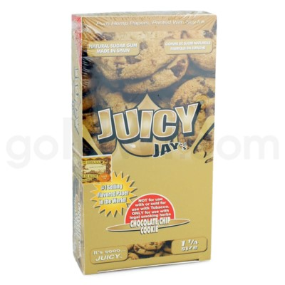 Juicy Jay's 1 1/4'' Rolling Paper-Chocolate Chip 32/pk 24ct