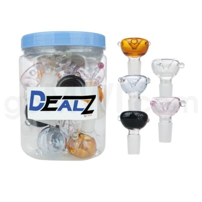 Kit: AS-2CL GOG 19mm Male Bowl w. Marbles - Asst 20ct