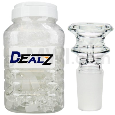 Kit: BW423-CL GOG 14mm Male Bowl Clear (50ct)
