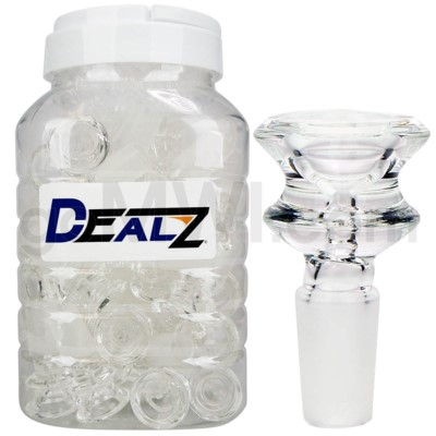 Kit: BW424-CL GOG 19mm Male Bowl Clear (50ct)