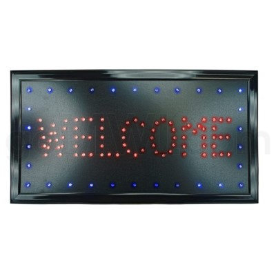 LED/SIGN WELCOME