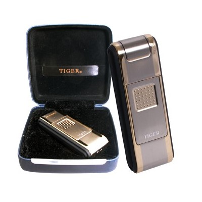 disc Tiger Lighter High End  windproof w/Gift Box