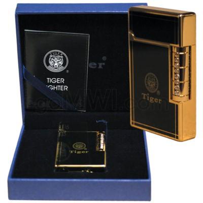 DISC Lighter High End Tiger CZ (TL008G)