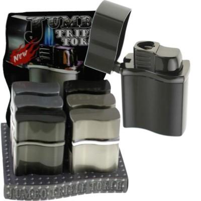 DISC Jumbo Lighter Triple Torch 6CT/BX