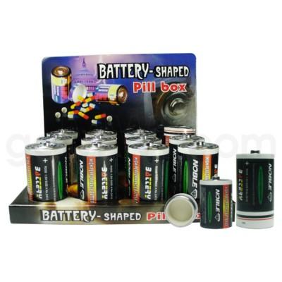 Pill Box Battery D  12/12/144