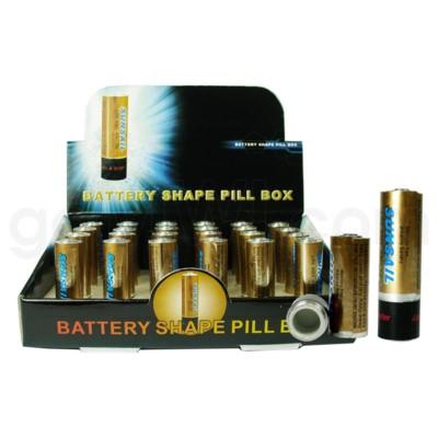 Pill Box AA Battery  24PC/BX