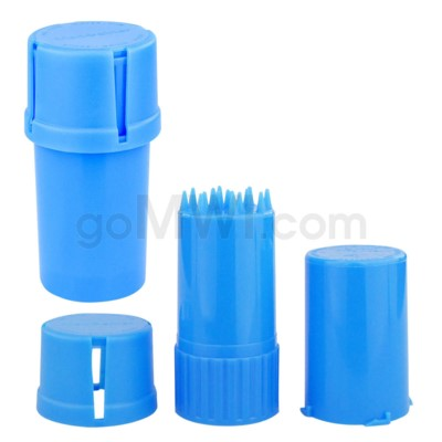 Medtainer 20 Dram Solid Blue 12PC/BX