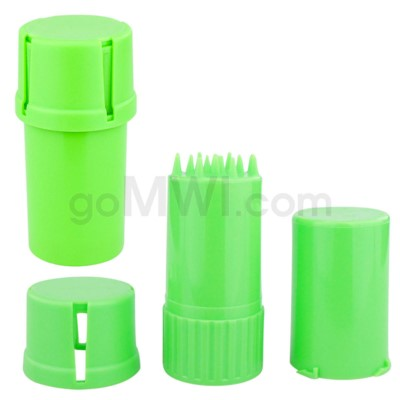 Medtainer 20 Solid Green 12PC/BX