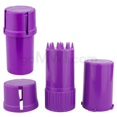 Medtainer 20 Solid Purple 12PC/BX