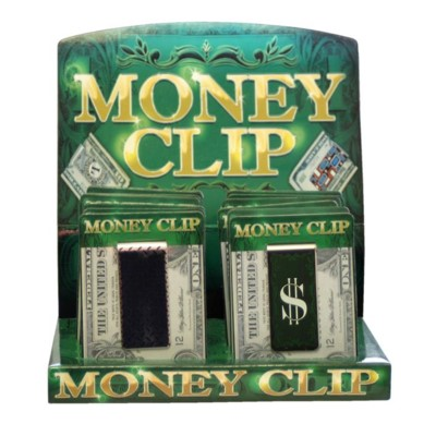 DISC Money Clips Printed 12/20/240