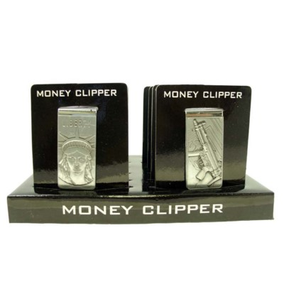 DISC Money Clips Pewter 12/20/240