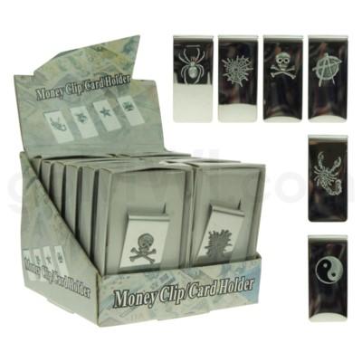 Fujima Money Clip w/ Emblem Assorted