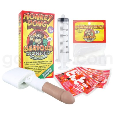 Monkey Dong Urine Delivery Device-Latino