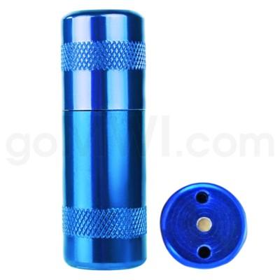 Aluminum Inflator - Blue 12/bx