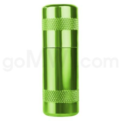 Aluminum Inflator- Green 12/bx