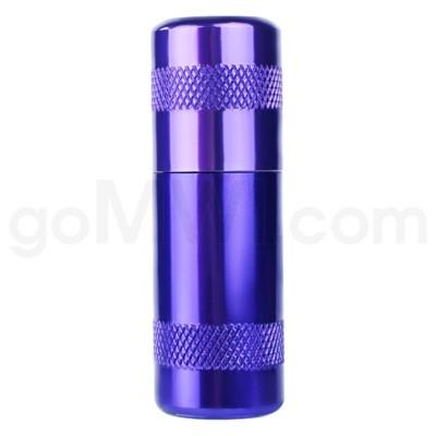 Aluminum Inflator- Purple 12/bx