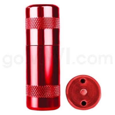 Aluminum Inflator- Red 12/bx