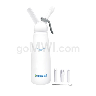 Whip-It Professional 1L- 2PT White 6PC/CS