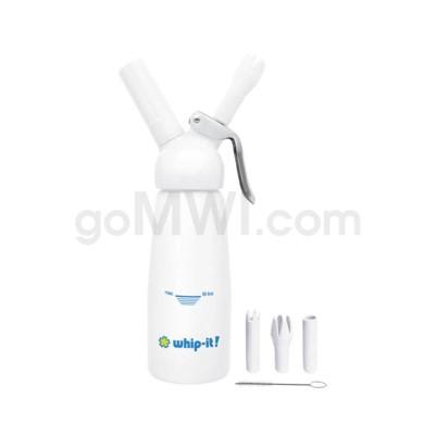Whip-It Professional .25L-1/2 PT  White 6PC/CS