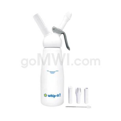 Whip-It Professional .5L-1PT White 6PC/CS