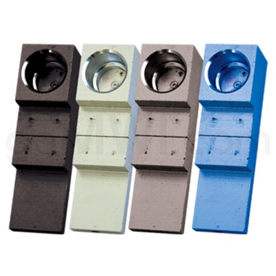 Metal Flip Magnet Pipe small 4 asst. colors