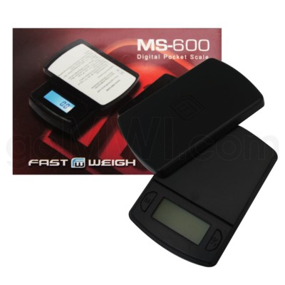 AWS 600g x 0.1g Fast Weigh M Series Scales