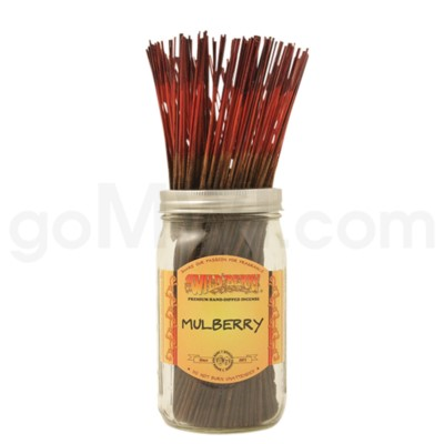 Wildberry Incense Mulberry 100/ct